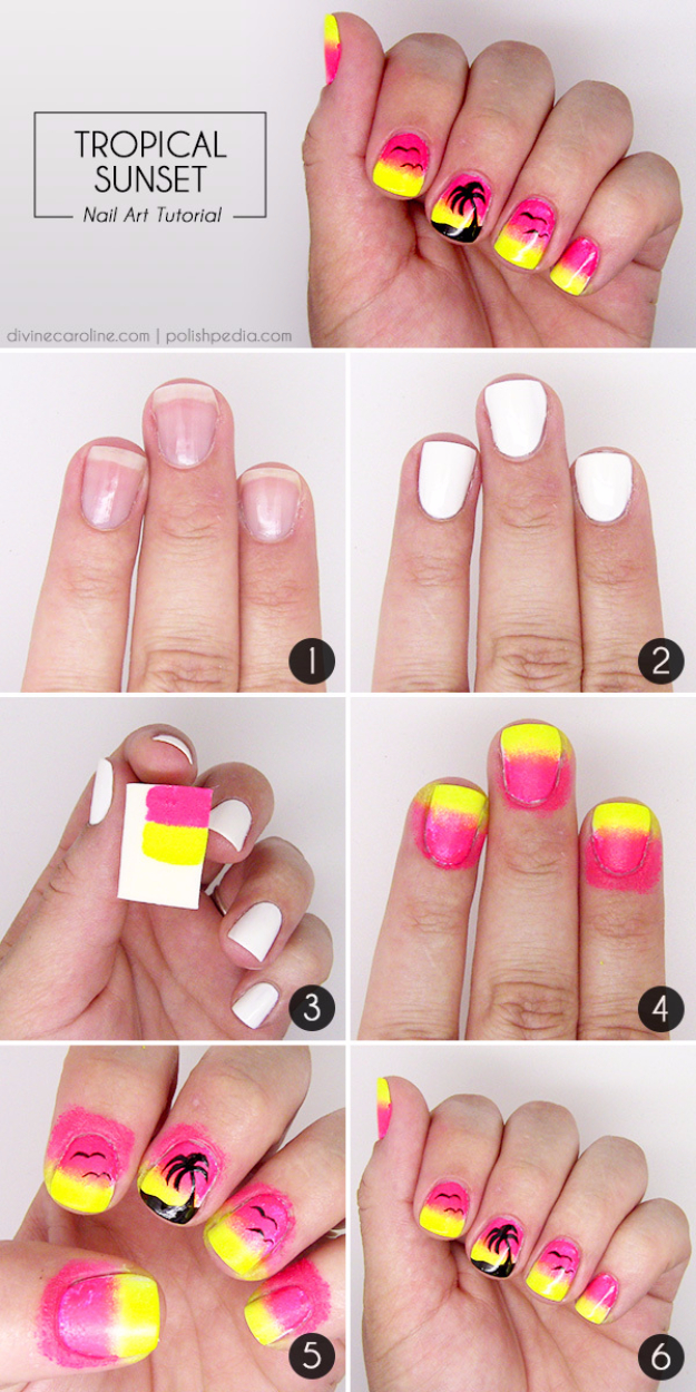 Summer Nail Art Diy Projects For Teens
