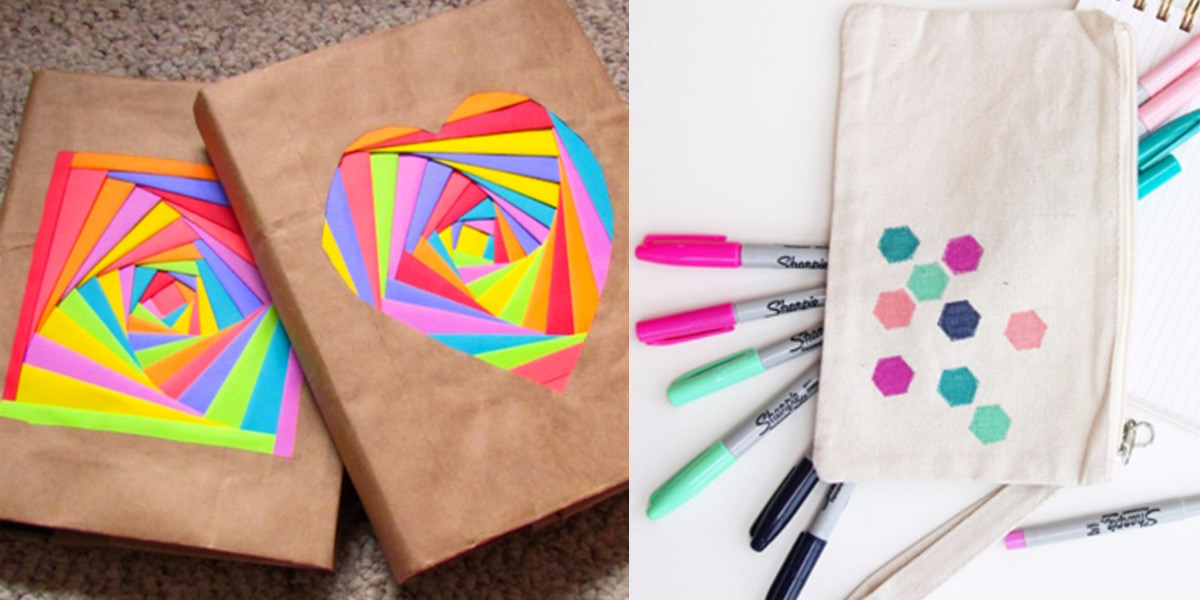 32 diy ideas for back to school supplies solutioingenieria Choice Image
