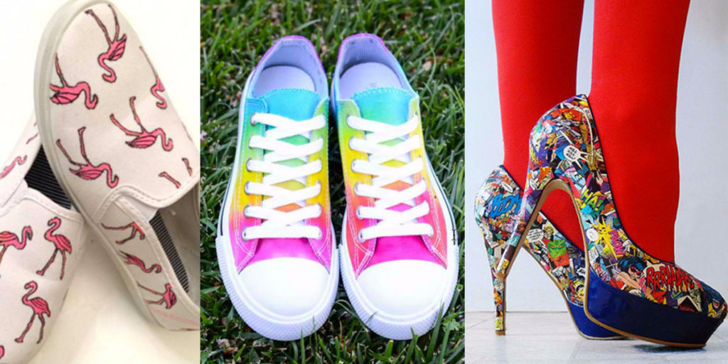DIY Shoe Makeovers - Fun, Cool Step by Step Tutorials for Fun Fashion for Your Feet. Teens and Adults will love these crafty and creative ideas for shoe updates