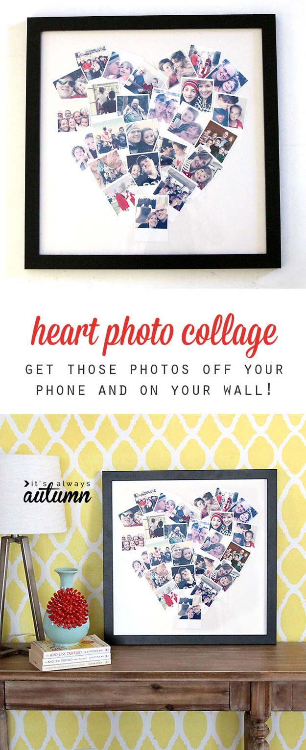 Cool DIY Photo Projects And Craft Ideas For Photos