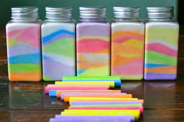 Best DIY Rainbow Crafts Ideas - Rainbow in a Jar - Fun DIY Projects With Rainbows Make Cool Room and Wall Decor, Party and Gift Ideas, Clothes, Jewelry and Hair Accessories - Awesome Ideas and Step by Step Tutorials for Teens and Adults, Girls and Tweens http://diyprojectsforteens.com/diy-projects-with-rainbows