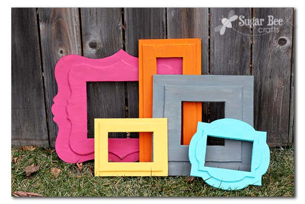 Best DIY Picture Frames and Photo Frame Ideas - Foam Frames of Awesomeness - How To Make Cool Handmade Projects from Wood, Canvas, Instagram Photos. Creative Birthday Gifts, Fun Crafts for Friends and Wall Art Tutorials #diyideas #diygifts #teencrafts