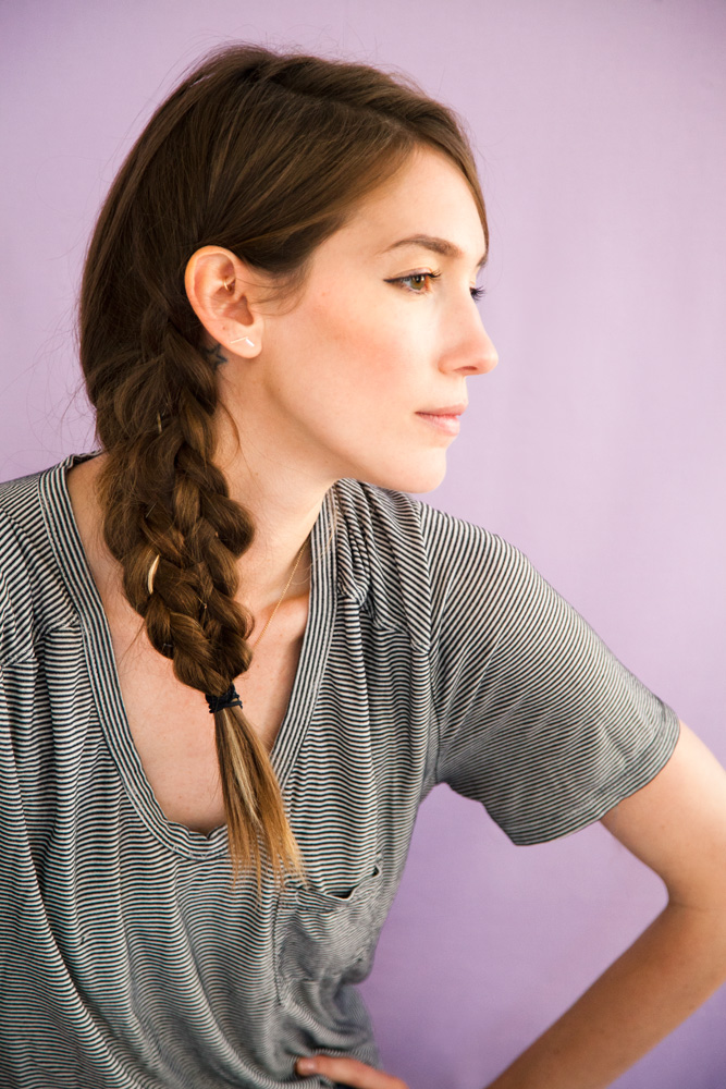 Cool and Easy DIY Hairstyles - Mermaid Tale Braid - Quick and Easy Ideas for Back to School Styles for Medium, Short and Long Hair - Fun Tips and Best Step by Step Tutorials for Teens, Prom, Weddings, Special Occasions and Work. Up dos, Braids, Top Knots and Buns, Super Summer Looks #hairstyles #hair #teens #easyhairstyles #diy #beauty
