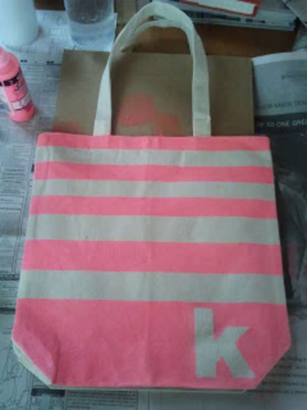 DIY Monogram Projects and Crafts Ideas -Bridesmaid Canvas Tote Bag- Letters, Wall Art, Mason Jar Ideas, Printables, Stickers, Embroidery Tutorials, Home and Room Decor, Pillows, Shirts and Fashion Tutorials - Fun and Cool Ideas for Teens, Tweens and Adults Make Great DIY Gifts http://diyprojectsforteens.com/diy-projects-with-monograms