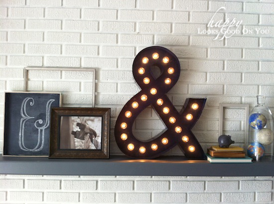 DIY Gifts for Teens - Ampersang Marquee Light - Cool Ideas for Girls and Boys, Friends and Gift Ideas for Teenagers. Creative Room Decor, Fun Wall Art and Awesome Crafts You Can Make for Presents #teengifts #teencrafts