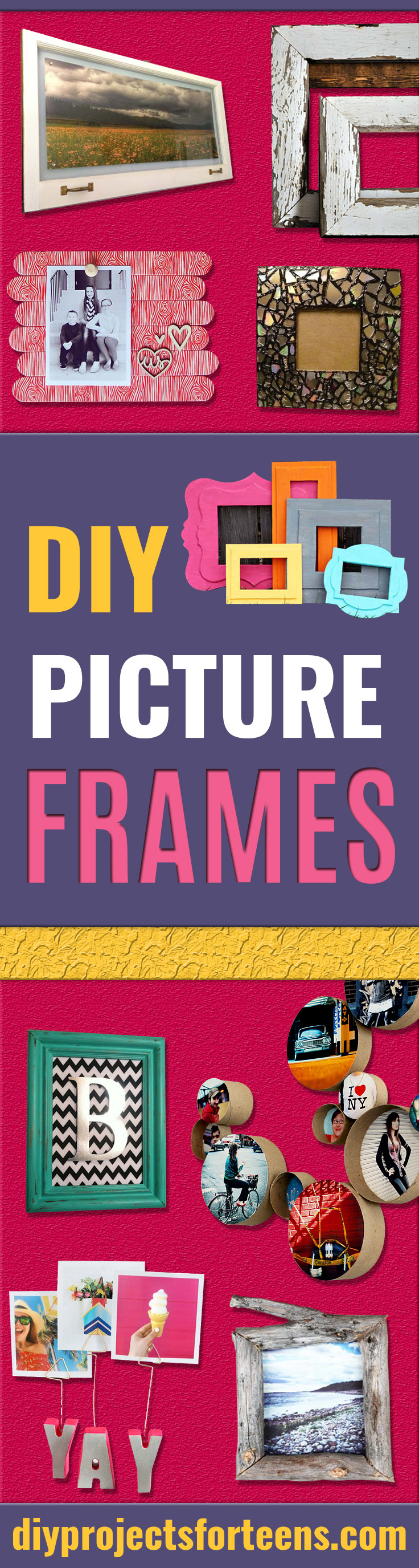 Creative Birthday Gifts Fun Crafts For Friends And Wall Art Tutorials Stagediyprojectsforteens Diy Picture Frames