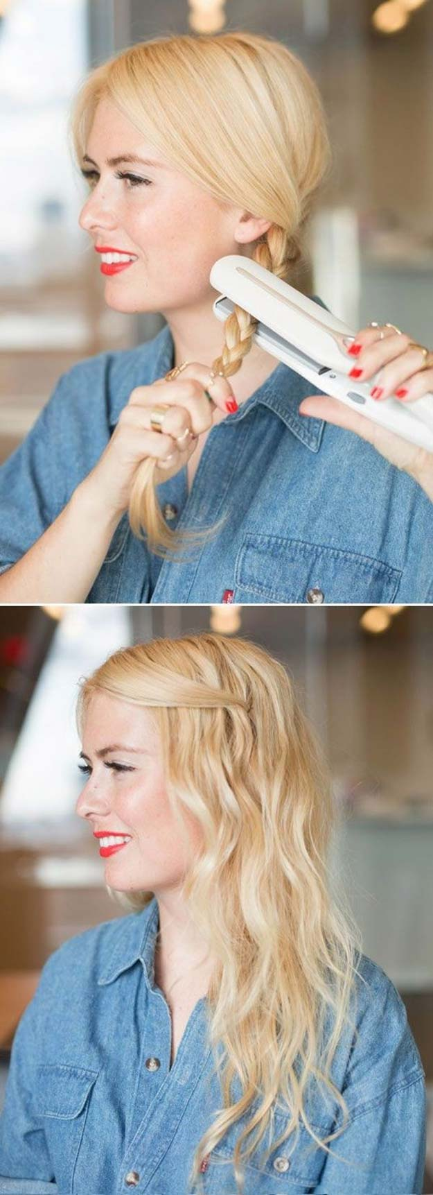 Cool and Easy DIY Hairstyles - 5 Minute Office Friendly Hairstyle - Quick and Easy Ideas for Back to School Styles for Medium, Short and Long Hair - Fun Tips and Best Step by Step Tutorials for Teens, Prom, Weddings, Special Occasions and Work. Up dos, Braids, Top Knots and Buns, Super Summer Looks #hairstyles #hair #teens #easyhairstyles #diy #beauty