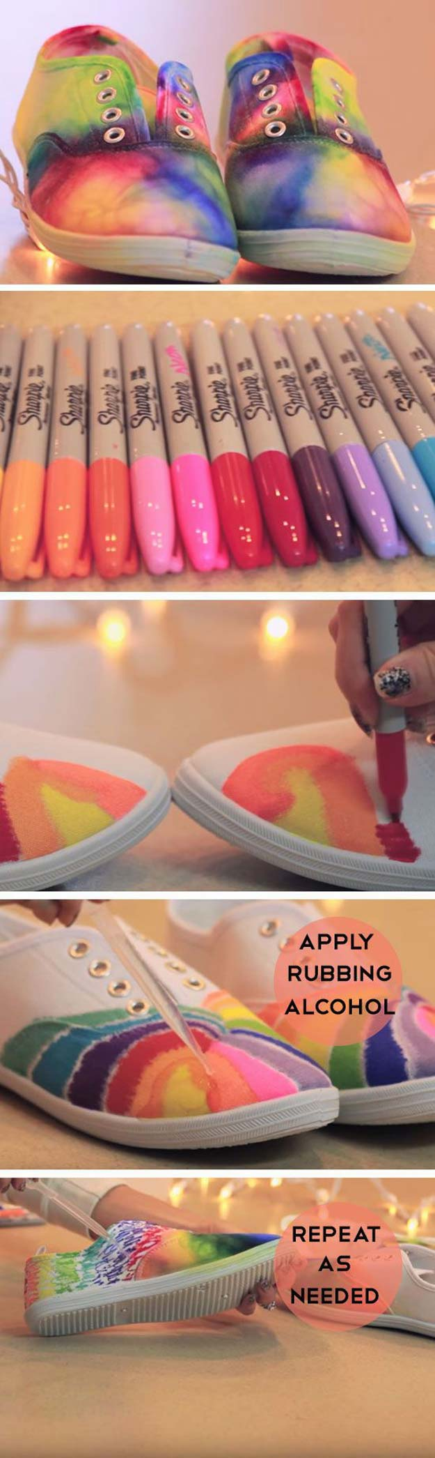 36 diy rainbow crafts that will make you smile all day long for Pinterest art ideas for adults