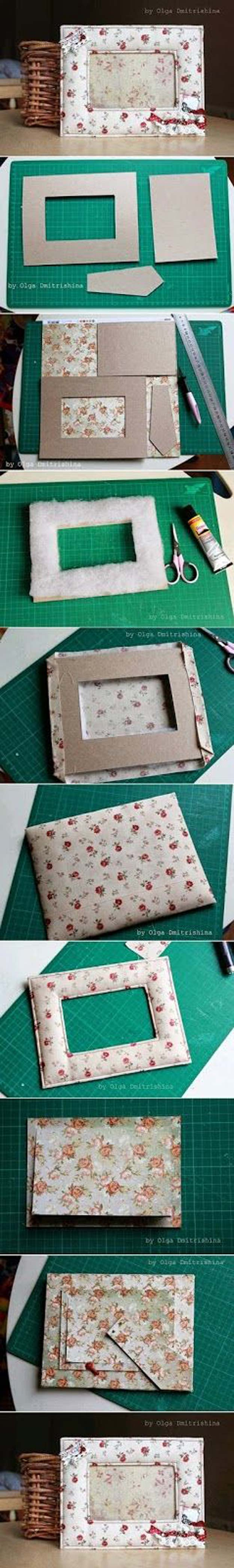Best DIY Picture Frames and Photo Frame Ideas - Nice Soft Photo Frame - How To Make Cool Handmade Projects from Wood, Canvas, Instagram Photos. Creative Birthday Gifts, Fun Crafts for Friends and Wall Art Tutorials #diyideas #diygifts #teencrafts