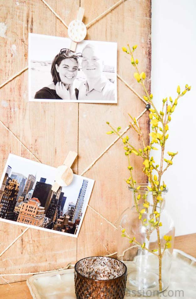 Cool DIY Photo Projects and Craft Ideas for Photos - Photo Display with Air Dry Clay - Easy Ideas for Wall Art, Collage and DIY Gifts for Friends. Wood, Cardboard, Canvas, Instagram Art and Frames. Creative Birthday Ideas and Home Decor for Adults, Teens and Tweens