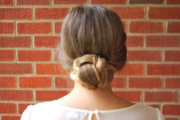 Cool and Easy DIY Hairstyles - Gibson Braided Truck - Quick and Easy Ideas for Back to School Styles for Medium, Short and Long Hair - Fun Tips and Best Step by Step Tutorials for Teens, Prom, Weddings, Special Occasions and Work. Up dos, Braids, Top Knots and Buns, Super Summer Looks #hairstyles #hair #teens #easyhairstyles #diy #beauty