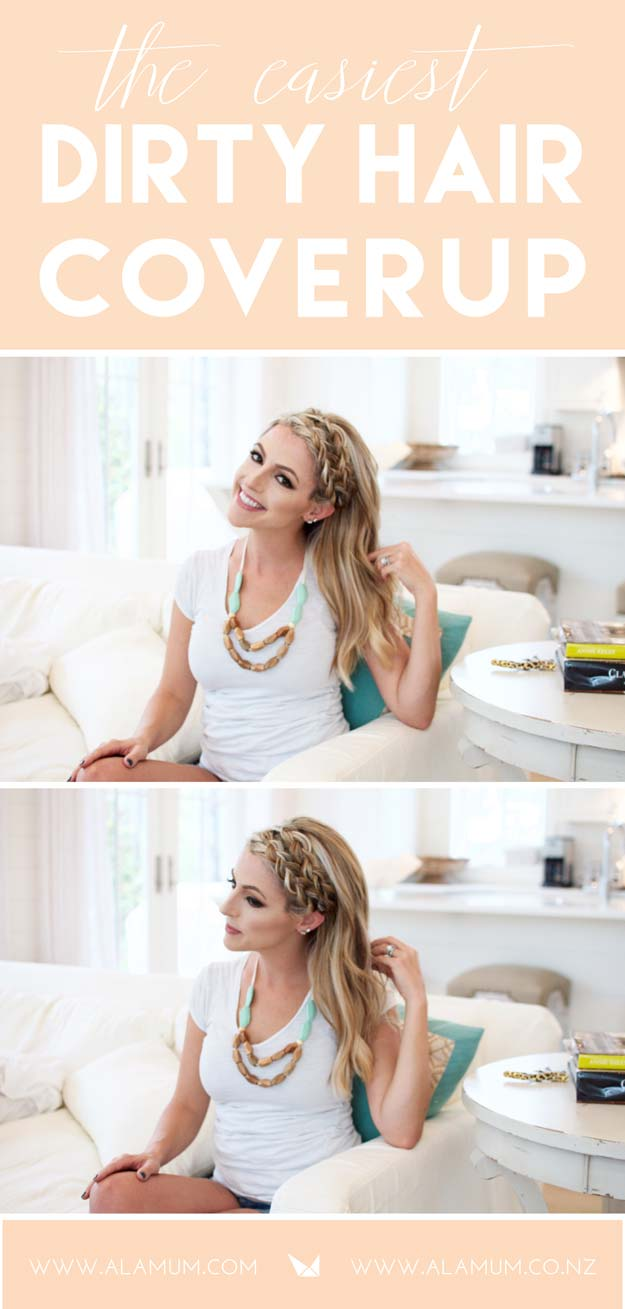 Cool and Easy DIY Hairstyles - Double Dutch Braid - Quick and Easy Ideas for Back to School Styles for Medium, Short and Long Hair - Fun Tips and Best Step by Step Tutorials for Teens, Prom, Weddings, Special Occasions and Work. Up dos, Braids, Top Knots and Buns, Super Summer Looks #hairstyles #hair #teens #easyhairstyles #diy #beauty