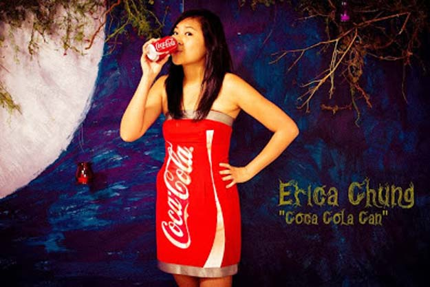 Best Last Minute DIY Halloween Costume Ideas - Coca-Cola Costume - Do It Yourself Costumes for Teens, Teenagers, Tweens, Teenage Boys and Girls, Friends. Fun, Clever, Cheap and Creative Costumes that Are Easy To Make. Step by Step Tutorials and Instructions http://diyprojectsforteens.com/last-minute-diy-halloween-costumes