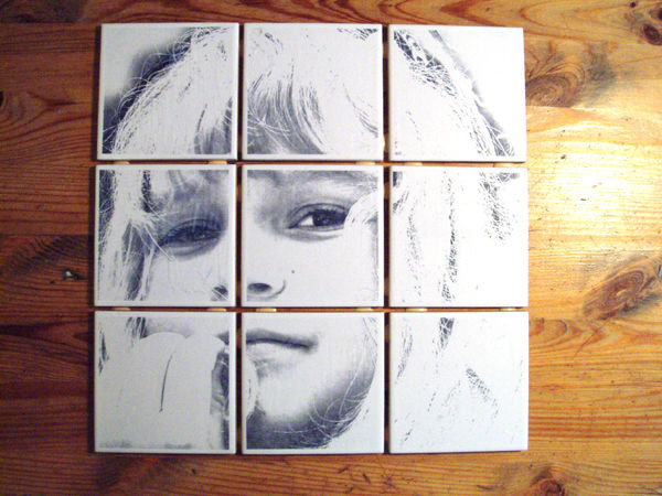 Cool DIY Photo Projects and Craft Ideas for Photos - Unique Tile Picture - Easy Ideas for Wall Art, Collage and DIY Gifts for Friends. Wood, Cardboard, Canvas, Instagram Art and Frames. Creative Birthday Ideas and Home Decor for Adults, Teens and Tweens