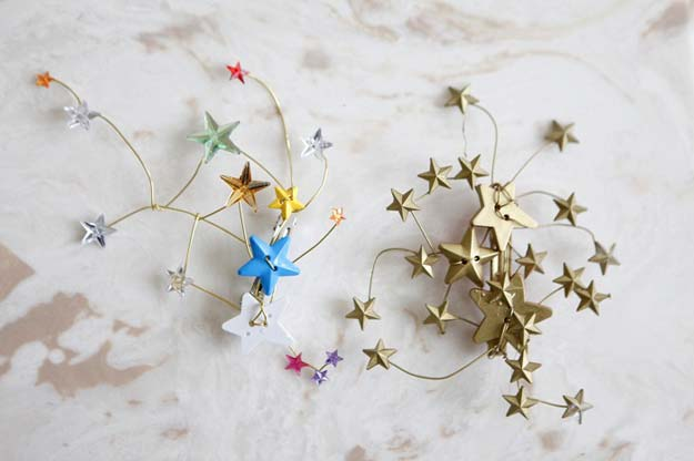 38 Creative DIY Hair Accessories - Rodarte Star Hair Pins - Create Pretty Hairstyles for Women, Teens and Girls with These Easy Tutorials - Vintage and Boho Looks for Prom and Wedding - Step by Step Instructions for Cool Headbands, Barettes, Pony Tail Holders, Hair Clips, Bobby Pins and Bows http://diyprojectsforteens.com/diy-hair-accessories