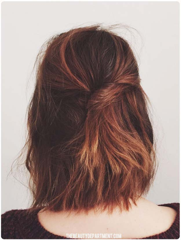 Cool and Easy DIY Hairstyles - Short Stack - Quick and Easy Ideas for Back to School Styles for Medium, Short and Long Hair - Fun Tips and Best Step by Step Tutorials for Teens, Prom, Weddings, Special Occasions and Work. Up dos, Braids, Top Knots and Buns, Super Summer Looks #hairstyles #hair #teens #easyhairstyles #diy #beauty
