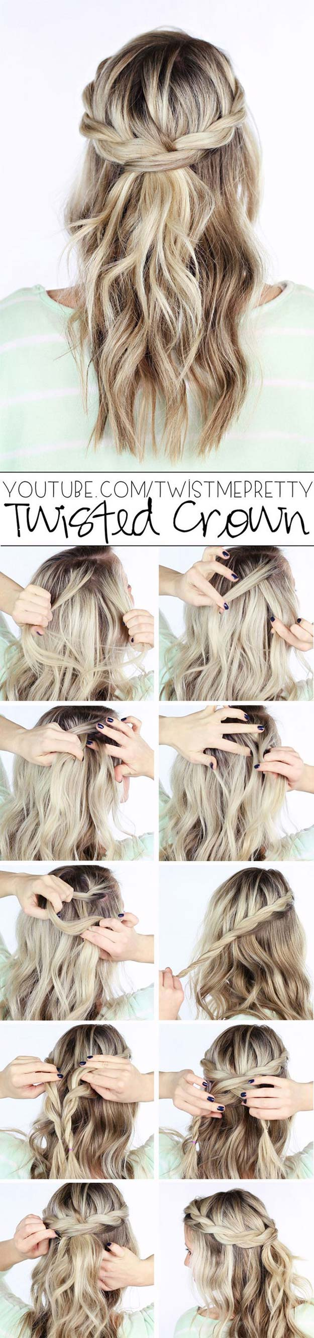 8 cool braid tutorials from pinterest that will actually teach you.