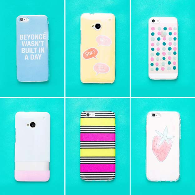 DIY iPhone Case Makeovers - Printable Cases - Easy DIY Projects and Handmade Crafts Tutorial Ideas You Can Make To Decorate Your Phone With Glitter, Nail Polish, Sharpie, Paint, Bling, Printables and Sewing Patterns - Fun DIY Ideas for Women, Teens, Tweens and Kids