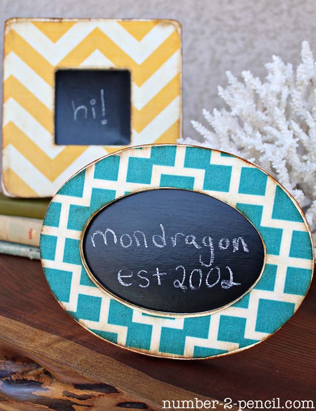 Best DIY Picture Frames and Photo Frame Ideas - Mod Podge Fabric Frames - How To Make Cool Handmade Projects from Wood, Canvas, Instagram Photos. Creative Birthday Gifts, Fun Crafts for Friends and Wall Art Tutorials http://diyprojectsforteens.com/diy-picture-frames
