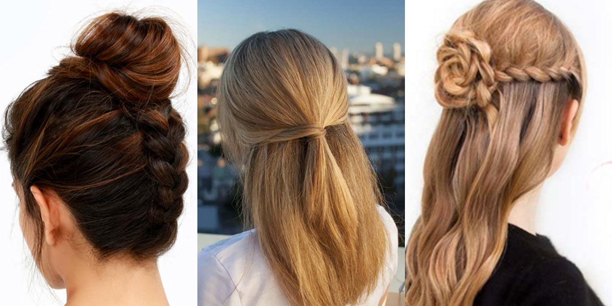Easy Quick Hairstyles easy quick hairstyles medium hair styles ideas 36222 how 41 Diy Cool Easy Hairstyles That Real People Can Actually Do At Home