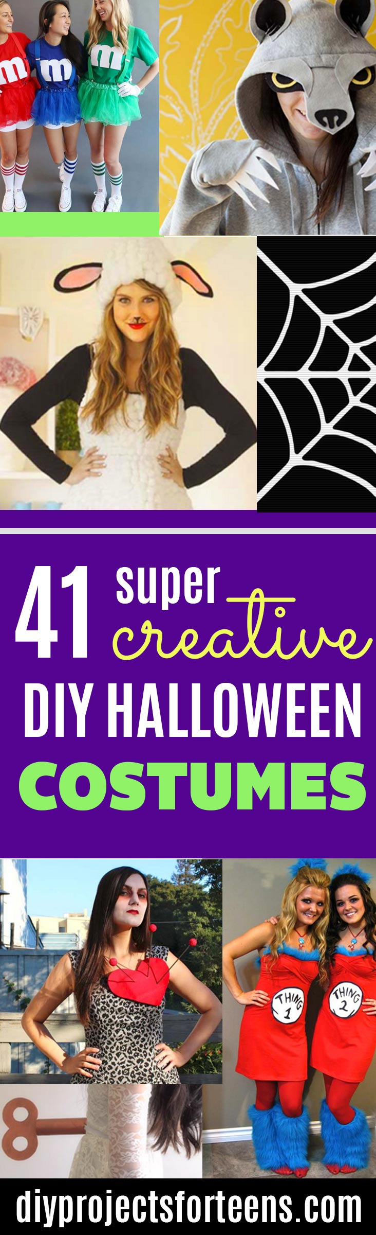 41 super creative diy halloween costumes for teens best last minute diy halloween costume ideas do it yourself costumes for teens teenagers solutioingenieria Image collections