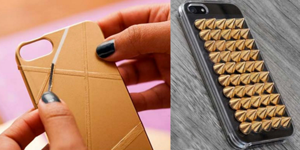 The Coolest of The Cool DIY iphone Case Makeovers (31 of Them!)
