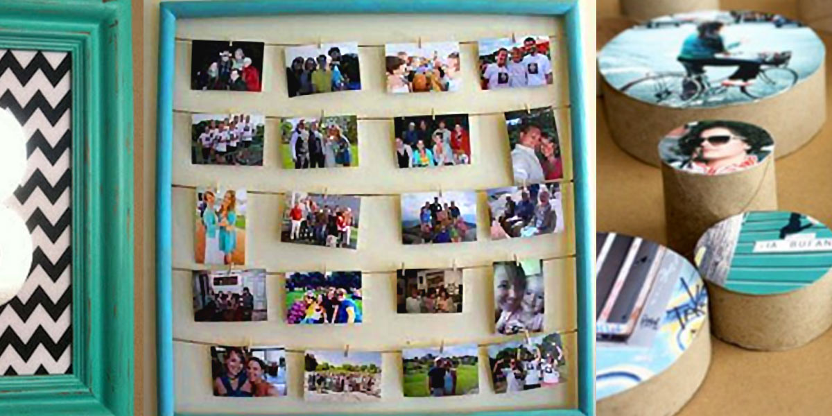 31 cool and crafty diy picture frames solutioingenieria Image collections