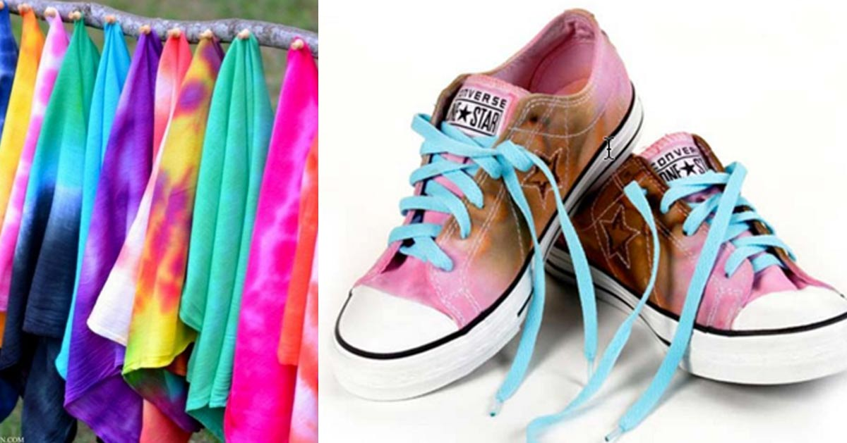 DIY Tie Dye Projects - Creative Tie Dye Crafts for Teens and Adults