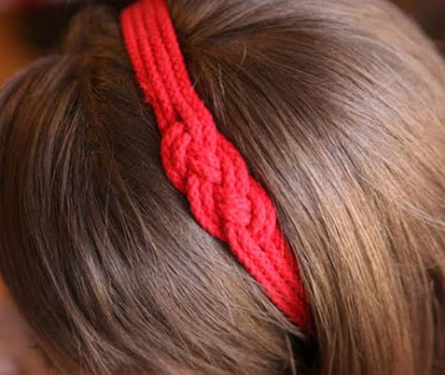 38 Creative DIY Hair Accessories - Nautical Headband- Create Pretty Hairstyles for Women, Teens and Girls with These Easy Tutorials - Vintage and Boho Looks for Prom and Wedding - Step by Step Instructions for Cool Headbands, Barettes, Pony Tail Holders, Hair Clips, Bobby Pins and Bows