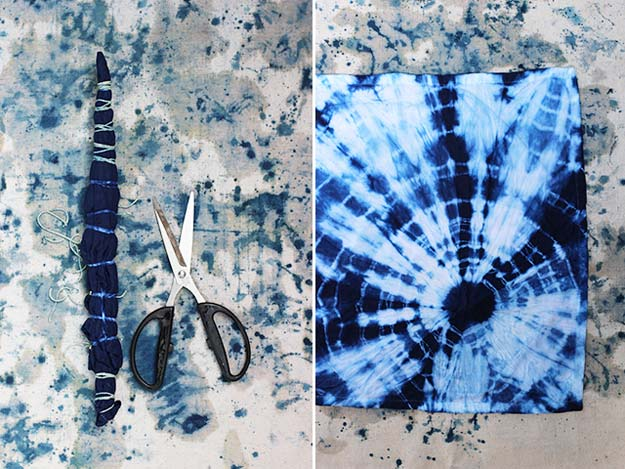 DIY Tie Dye Projects and Crafts - Shibori - Cool Tie Dye Ideas for Shirts, Socks, Paint, Sheets, Sharpie, Food and Recipes, Bags, Tshirt and Shoes - Fun Projects and Gifts for Adults, Teens and Teenagers