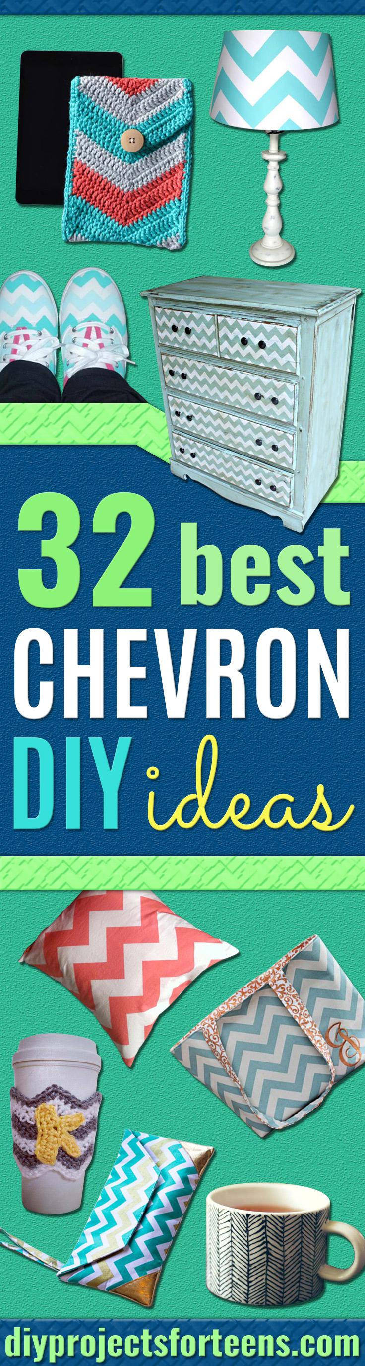 Best Chevron DIY Project Ideas