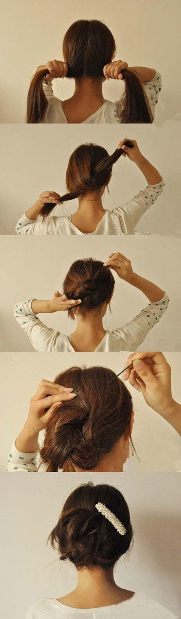 easy hair up styles to do yourself 36 best hairstyles for hair diy projects for 5520