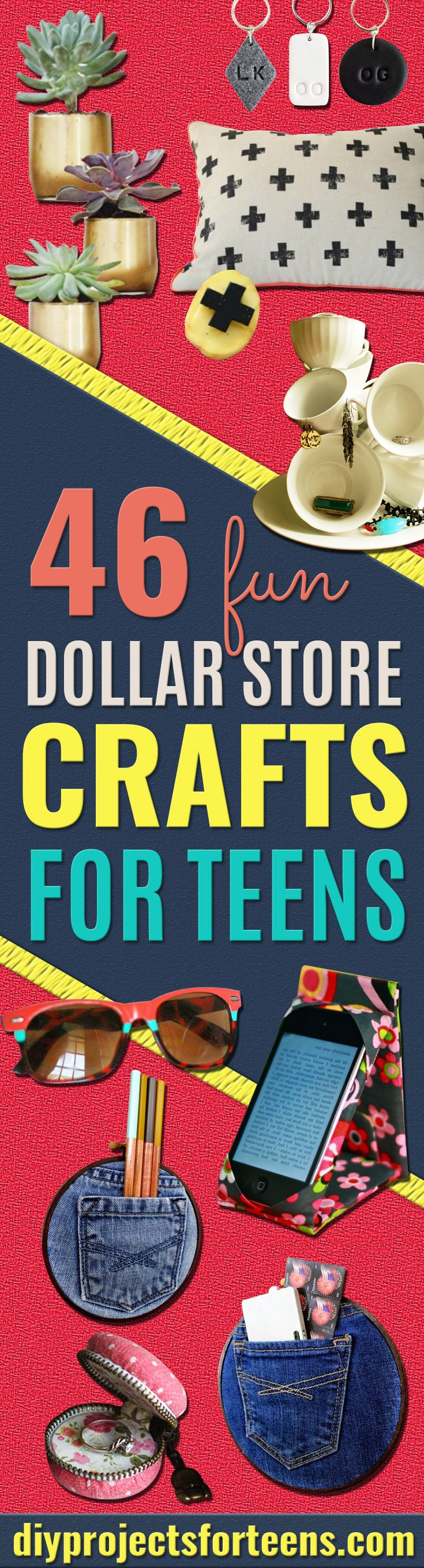 Fun Dollar Store Crafts for Teens