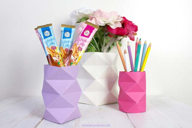 Diy Origami Vase 2 21 700x467 Diy Projects For Teens
