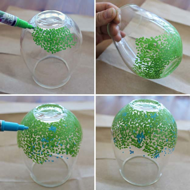 Fun Dollar Store Crafts for Teens - DIY Pop Color Glassware - Cheap and Easy DIY Ideas for Teenagers to Make for Dollar Stores - Inexpensive Gifts and Room Decor for Tweens, Boys and Girls - Awesome Step by Step Tutorials with Instructions for Cool DIY Projects http://diyprojectsforteens.com/dollar-store-crafts-teens