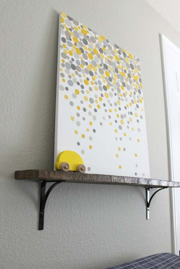 DIY Polka Dot Crafts and Projects - DIY Polka Dot Art Gallery - Cool Clothes, Room and Home Decor, Wall Art, Mason Jars and Party Ideas, Canvas, Fabric and Paint Project Tutorials - Fun Craft Ideas for Teens, Kids and Adults Make Awesome DIY Gifts