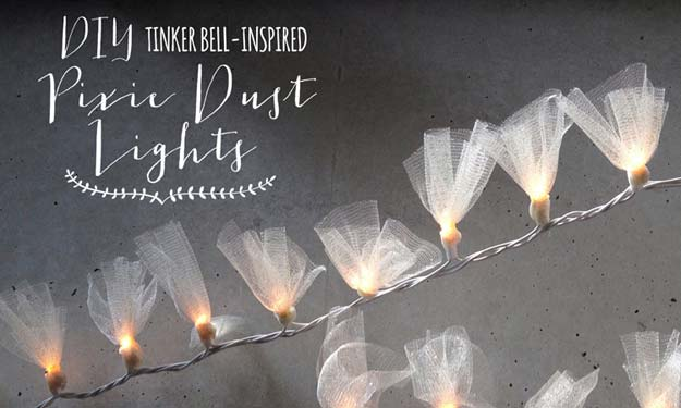 Best DIY Ideas from Tumblr - DIY Pixie Dust Lights - Crafts and DIY Projects Inspired by Tumblr are Perfect Room Decor for Teens and Adults - Fun Crafts and Easy DIY Gifts, Clothes and Bedroom Project Tutorials for Teenagers and Tweens http://diyprojectsforteens.com/diy-projects-tumblr