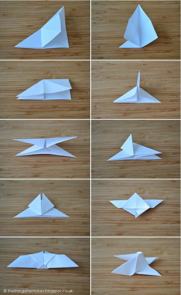 Best Origami Tutorials - Origami Butterflies- Easy DIY Origami Tutorial Projects for With Instructions for Flowers, Dog, Gift Box, Star, Owl, Buttlerfly, Heart and Bookmark, Animals - Fun Paper Crafts for Teens, Kids and Adults http://diyprojectsforteens.com/best-origami-tutorials