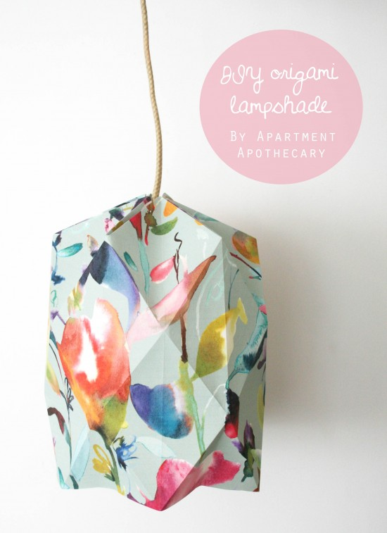 Best Origami Tutorials - Origami Lampshade- Easy DIY Origami Tutorial Projects for With Instructions for Flowers, Dog, Gift Box, Star, Owl, Buttlerfly, Heart and Bookmark, Animals - Fun Paper Crafts for Teens, Kids and Adults http://diyprojectsforteens.com/best-origami-tutorials