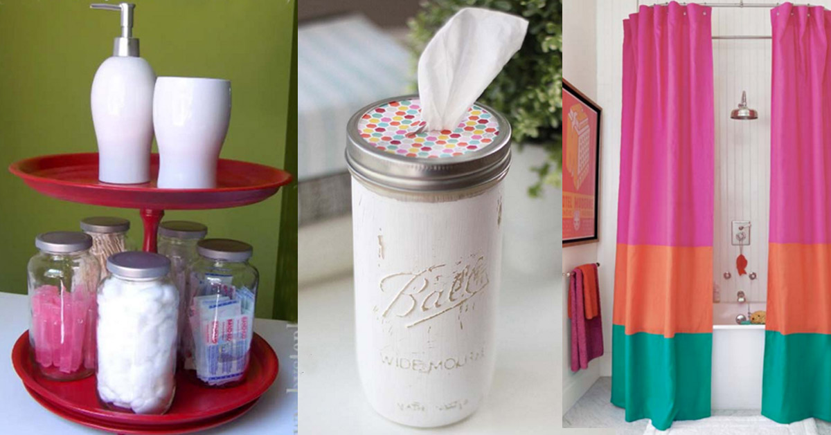 DIY Bathroom Decor Ideas for Teens and Adults