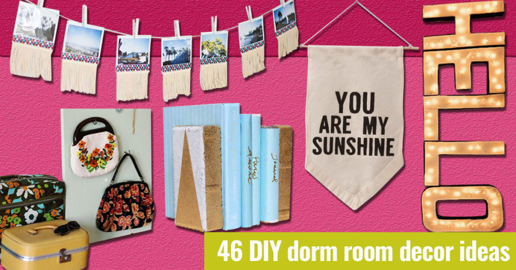 Creative Wall Decor For Dorms : Creative crafts archives diy projects for teens