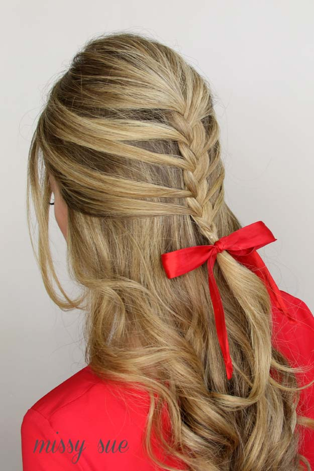 Best Hairstyles for Long Hair - Bardot Mermaid Braid- Step by Step Tutorials for Easy Curls, Updo, Half Up, Braids and Lazy Girl Looks. Prom Ideas, Special Occasion Hair and Braiding Instructions for Teens, Teenagers and Adults, Women and Girls http://diyprojectsforteens.com/best-hairstyles-long-hair