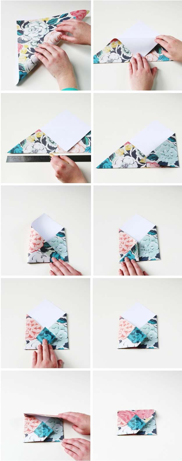 Best Origami Tutorials - Origami Envelops- Easy DIY Origami Tutorial Projects for With Instructions for Flowers, Dog, Gift Box, Star, Owl, Buttlerfly, Heart and Bookmark, Animals - Fun Paper Crafts for Teens, Kids and Adults http://diyprojectsforteens.com/best-origami-tutorials