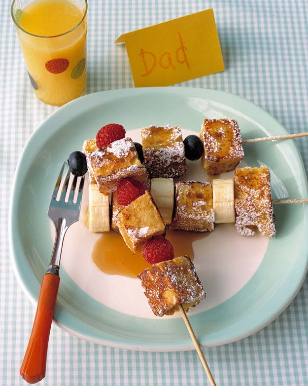 Cool and Easy Recipes For Teens to Make at Home - French Toast Kebabs - Fun Snacks, Simple Breakfasts, Lunch Ideas, Dinner and Dessert Recipe Tutorials - Teenagers Love These Fun Foods that Are Quick, Healthy and Delicious Ideas for Meals http://diyprojectsforteens.com/diy-recipes-teens