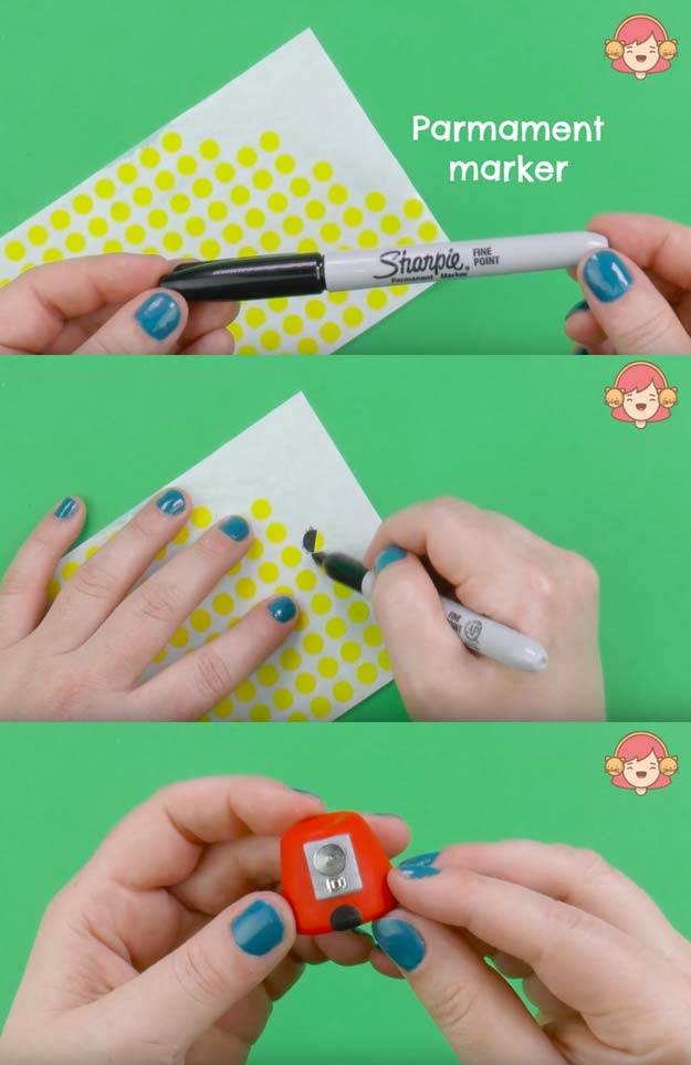 Best DIY EOS Projects - DIY EOS Gumball Machine - Turn Old EOS Containers Into Cool Crafts Ideas Like This Gumball Machine Lip Balm Container- Fun, Cheap and Easy DIY Projects Tutorials and Videos for Teens, Girls, Tweens, Kids and Adults