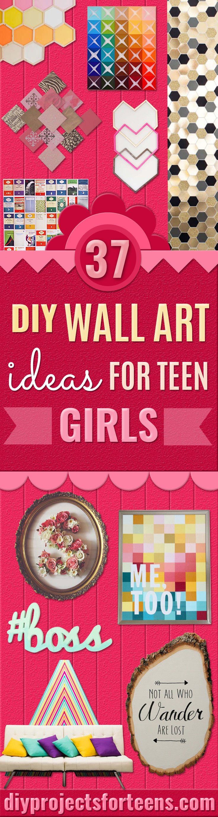 37-diy-wall-art-for-teen-girls-2