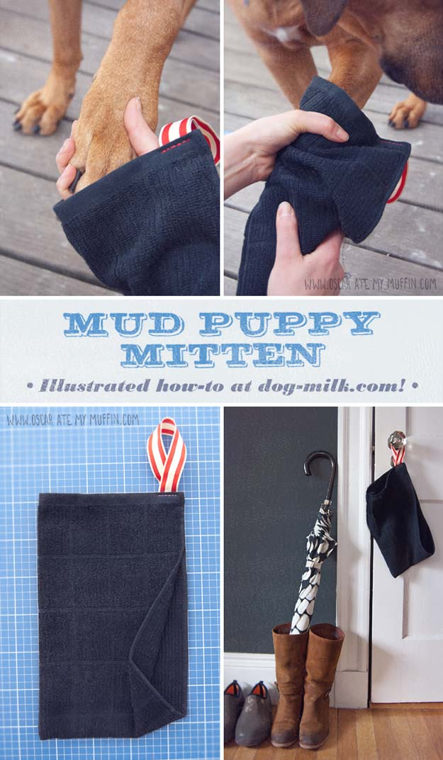 DIY Projects for Your Pet - Easy DIY Mud Puppy Mitten - Cat and Dog Beds, Treats, Collars and Easy Crafts to Make for Toys - Homemade Dog Biscuits, Food and Treats - Fun Ideas for Teen, Tweens and Adults to Make for Pets