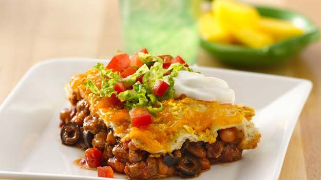 Cool and Easy Recipes For Teens to Make at Home - Taco Bake - Fun Snacks, Simple Breakfasts, Lunch Ideas, Dinner and Dessert Recipe Tutorials - Teenagers Love These Fun Foods that Are Quick, Healthy and Delicious Ideas for Meals http://diyprojectsforteens.com/diy-recipes-teens