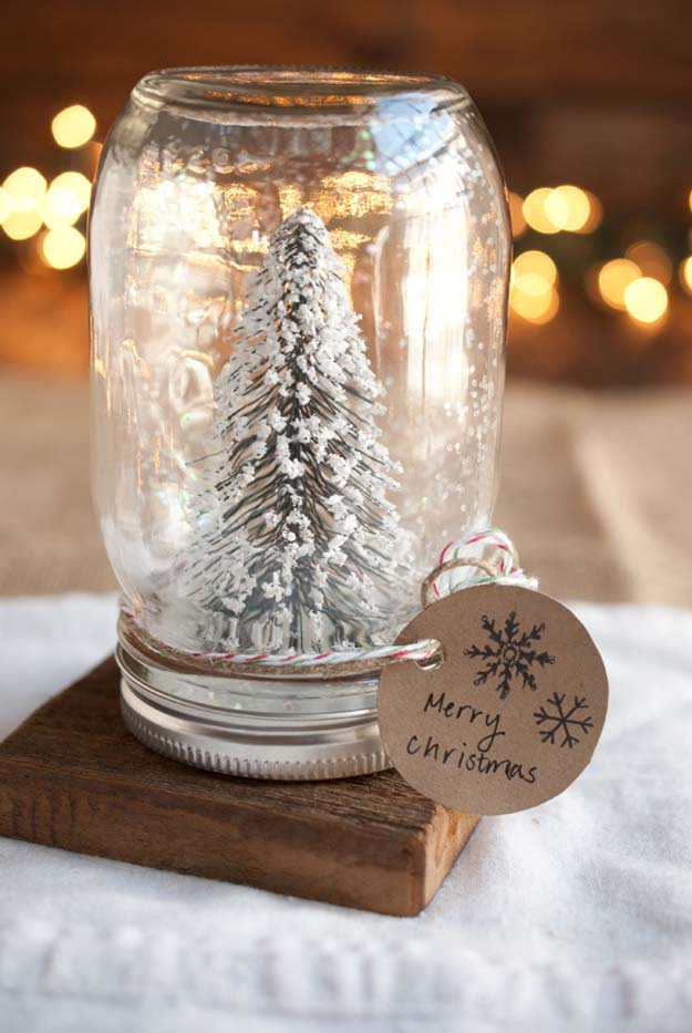 cute diy mason jar gift ideas for teens diy anthropologie mason jar snow globe