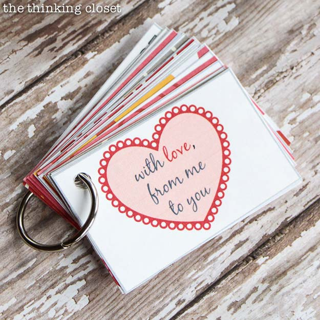 Cool DIY Gifts to Make For Your Boyfriend - DIY 12 Months of Date Nights - Easy, Cheap and Awesome Gift Ideas to Make for Guys - Fun Crafts and Presents to Give to Boyfriends - Men Love These Gift Card Holders, Mason Jar Kits, Thoughtful Handmade Christmas Gifts - DIY Projects for Teens #diygifts #teencrafts